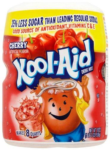 Kraft Kool-Aid Cherry, 1er Pack (1 x 538 g Packung)