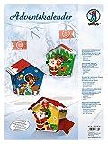 Ursus 17820004 - Adventskalender Weihnachtsmann,...