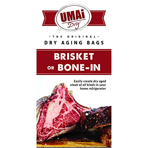 UMAi Dry Brisket Bone-in Sized | Dry Age Bags for Meat | Breathable Membrane Bags for Dry Aging...