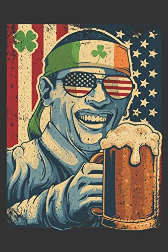 2020 Week To View Dated Planner Diary: 6x9 Inches Paperback Irish Obama Drinking Beer