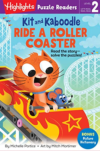 Kit and Kaboodle Ride a Roller Coaster (Highlights Puzzle Readers) (English Edition)