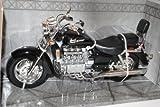 Motormax Hon-da Valkyrie Schwarz 1/6 Modell Motorrad