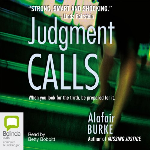 Judgment Calls audiobook cover art