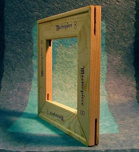 Masterpiece 24 Trust Elegant x 36 Canvas Stretcher One Frame complete Strips -
