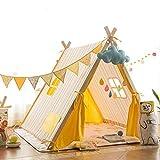TAHRH cabane Enfant intérieur,Support de Tente, Maison de Jeu intérieure pour Enfants, Grand Espace...