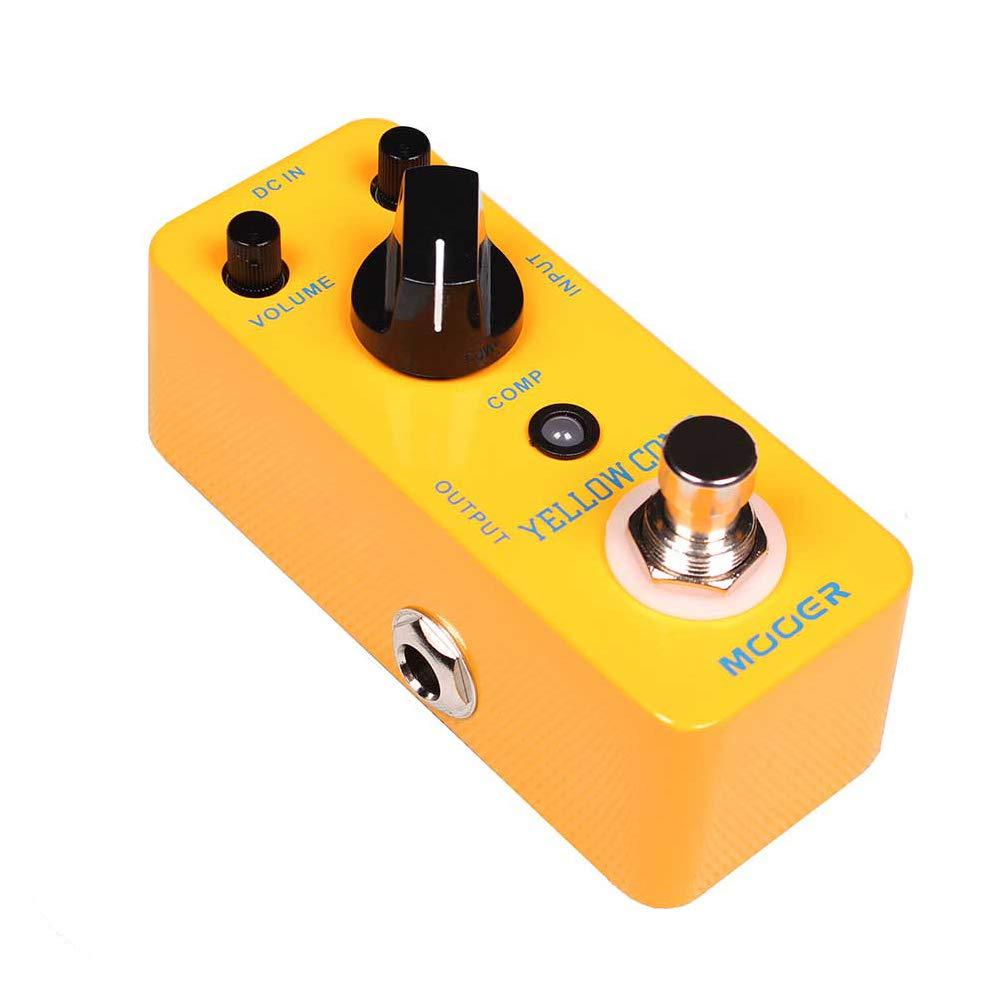 XuBa Amarillo Comp Micro Mini Compresor Óptico Efecto Pedal para ...