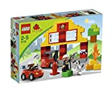 LEGO DUPLO Briques - 6138 - Jeu de Construction - Ma Première Caserne de Pompiers