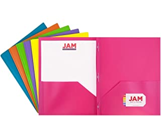 plastic folders with pockets and fasteners