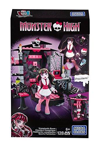 Mega Monster Bloks Alta Draculaura Vamptastic Sala Edificio septiembre