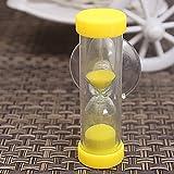 Kurphy 2 minutos de reloj de arena niños cepillo dos minutos Mini temporizador creativo exquisitos pequeños regalos