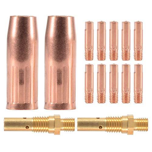 Accesorio de soldadura MIG - Kit de 10 piezas Tubo de