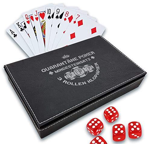 Spielkarten-Set mit Box