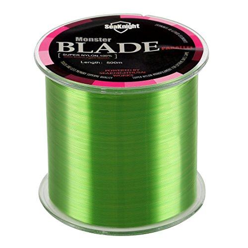 SeaKnight Blade Nylon Linea de Pesca 500m 1000m Japan Material Monofilamento Carpa Linea de Pesca sedal 2-35LB
