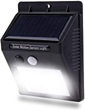 Luminária Solar De Parede 20 Leds Sensor 12 horas de Energia Lampada