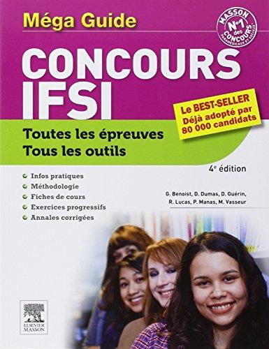 MEGA GUIDE CONCOURS IFSI 4ED.