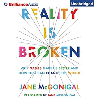 Reality Is Broken audiobook cover art