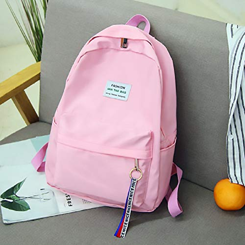 ZHAOSHOP Backpack Women Backpack Solid Color Travel Bag Best Shoulder Bag for Teenage Girl School Bag Backpack Rucksack Knapsack