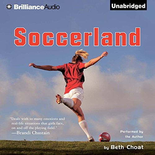 Soccerland audiobook cover art
