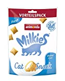 animonda Milkies, golosinas sin cereales para gatos, snacks para gatos, Fresh, 6 x 120 g