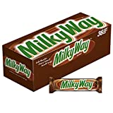 MILKY WAY Milk Chocolate Singles Size Candy Bars 1.84-Ounce 36-Count Box...