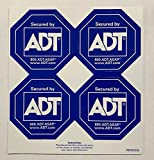 ADT Security Authentic Security Decals Window Stickers