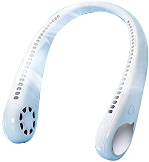 ネッククーラー 首掛け扇風機 首掛けエアコン 瞬間冷却 携帯扇風機 USBエアコンファン吊りネックエアクーラー 360°冷却ネックハンギング 髪を引っ張らない 超軽量で疲れにくいネック超サイレント公衆に適用可能