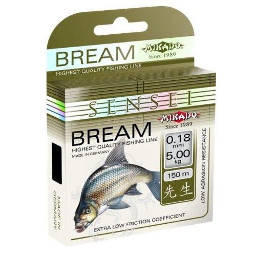 Unbekannt Mikado Bream Angelschnur 0.16-0.30 NEU 4,2-10,95 kg Brasse Weißfisch Profi Schnur Premium, Stärke/Gewicht:0.26/8.75