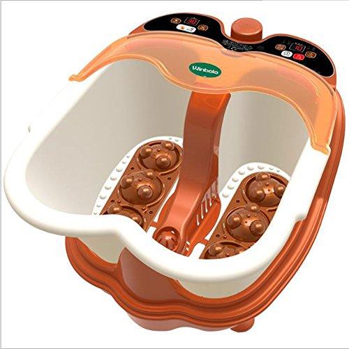Best Deals! EXTR ANT Split Foot Bath Massage Heating Health Foot Bath Electric Foam Foot Smart Footb...
