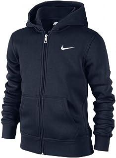 ae6442cd46562 Nike - Young Athletes 76 - Brushed Sweat-shirt à capuche zippé - Mixte  Enfant