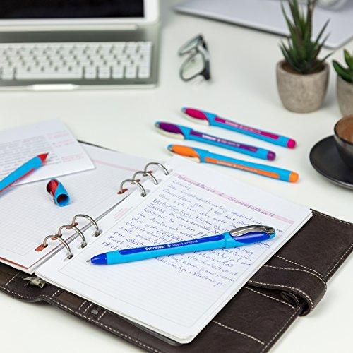 Schneider Slider Memo XB Ballpoint Pen, Asstd. Colors, Pack of 6 (150296) Photo #8