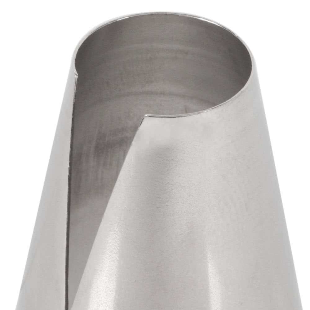 Ateco Nickel Plated Steel St. Honore Cake Decorating Tube