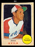 1974 Made in Venezuela Stickers (Baseball) Card# 35 jesus avila of the Aragua VGX Condition