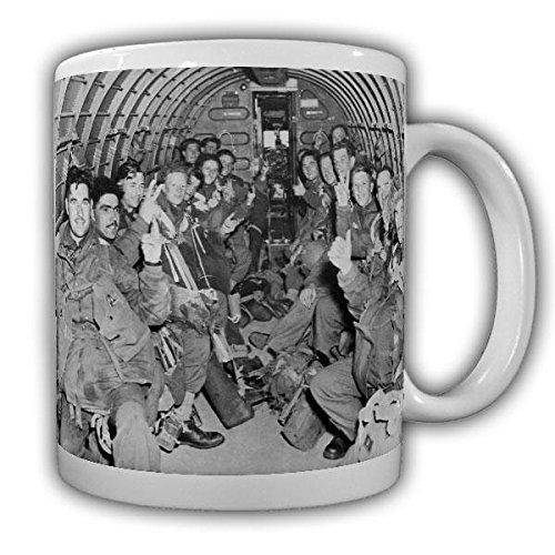 Mok Us Bomber koffiemok vliegtuig Airborne parachutespringer parachutejager afspring luchtwapen #22208