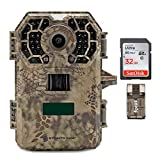 Stealth Cam 2020 G42NG 24MP Trail Camera and Memory Card Bundle. No-Glow Flash, 100-Ft. IR Range, Kryptek Camo (3 Items)