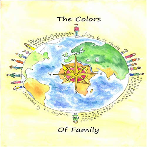 The Colors of Family audiobook cover art