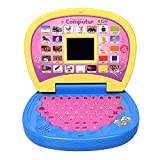 Amisha Gift Gallery Educational Learning Kids Laptop with LED Display for Kids