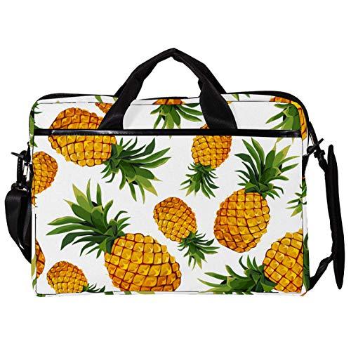 Pineapple 15 inch Laptop Sleeve case Protective Bag, ultrabook Notebook Carrying case Handbag Shoulder Messenger Bag for MacBook Pro, MacBook Air