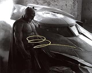 Ben Affleck BATMAN VS SUPERMAN In Person Autographed Photo #2