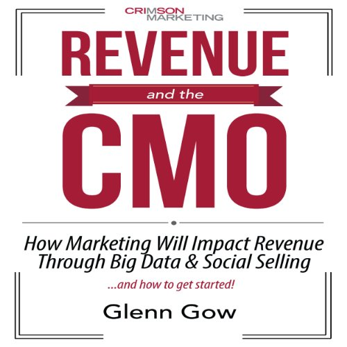 Revenue and the CMO audiobook cover art