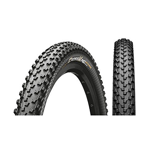 Continental Cross King, Pneumatici per Bicicletta Unisex Adulto, Nero, 26 X 2.00