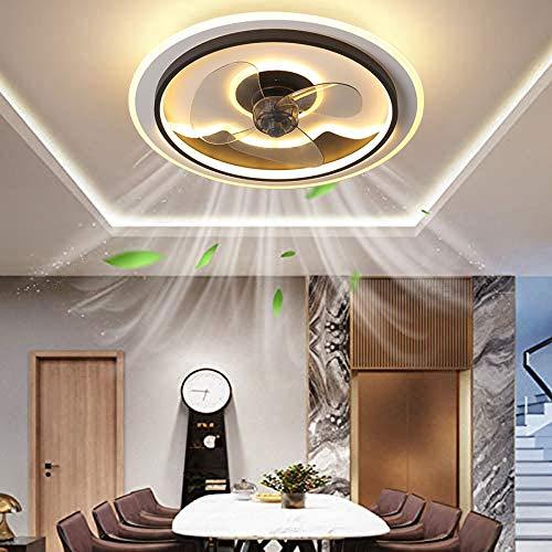 Ventilador de techo con iluminación ventilador de techo led con ventilador de control remoto lámpara de techo ventilador lámpara de techo dormitorio sala de estar lámpara de ventilador