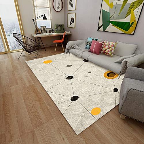 AUXING Home Kleine Frische Teppich3DGedruckt Teppich Wohnzimmer Einfache Couchtisch Teppich Outdoor Heimtextilien rutschfeste Matte180 * 280 cm