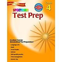 CARSON DELLOSA SPECTRUM TEST PREP GR 4 (Set of 6) [並行輸入品]