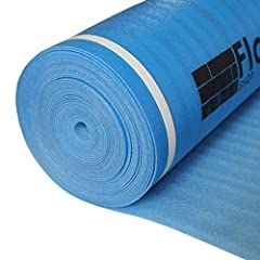 Coverage: 200 sqft per roll Includes Moisture/Vapor Barrier Extra Thick 3mm Foam Has Natural Sound Absorption For Laminate & Engineered Floating Floors 3mm Thick / Comes with overlap & tape for easy installation