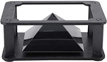 3D Hologram Projector Pyramid, 3.5-6 Inch Mobile Smartphone Hologram, 3D Holographic Display Stands Projector for Any Smartphone(Bracket)