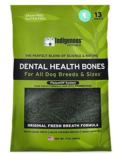 Indigenous Dental Health Bones Original Fresh Breath Flavor
