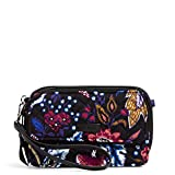 Vera Bradley Women's Signature Cotton RFID All in One Crossbody Wristlet , Foxwood, One Size
