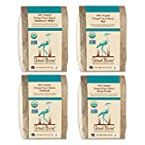 Great River Organic Milling, Bread Flour Blends, 4 Pack - Variety Pack, Oatmeal, Rye, Sunflower...