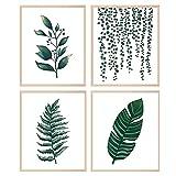 Pflanzen Wand Kunstdruck Poster Botanische Wandkunst