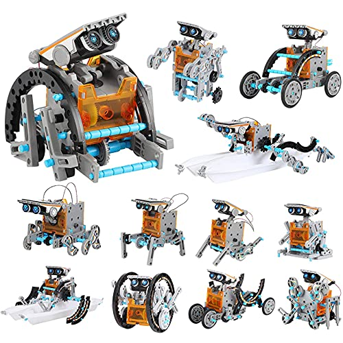 Lucky Doug 12-in-1 STEM Solar Robot Kit Toys Gifts for Kids 8 9 10 11 12 13 Years Old, Educational...